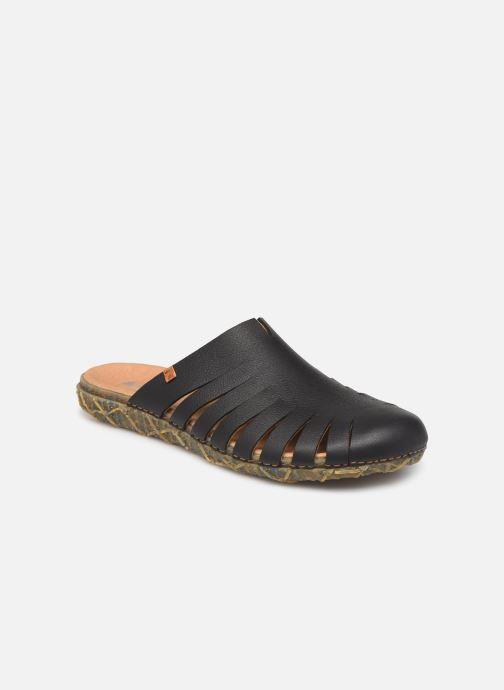 Sandals El Naturalista Redes N5504 Black detailed view/ Pair view