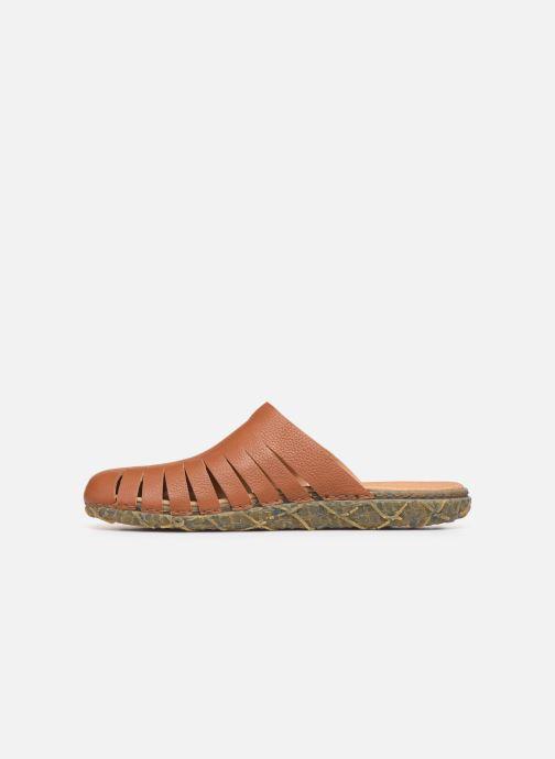 Sandales et nu-pieds El Naturalista Redes N5504 Marron vue face