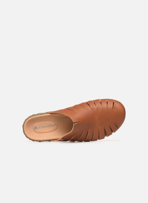 Sandali e scarpe aperte El Naturalista Redes N5504 Marrone immagine sinistra