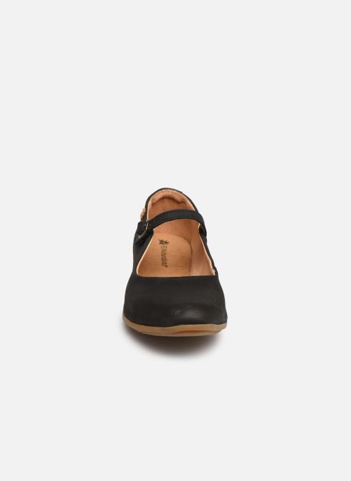 Ballerines El Naturalista Stella N5203 Noir vue portées chaussures