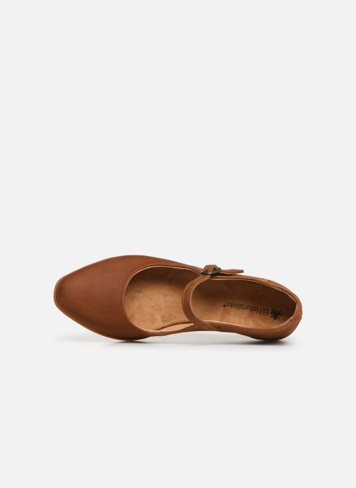 Ballet pumps El Naturalista Stella N5203 Brown view from the left