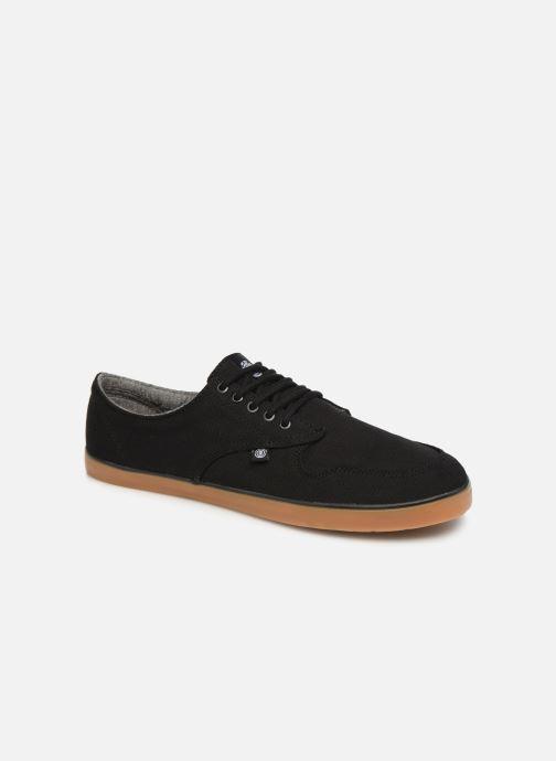 Sneakers Element TOPAZ stone Cahambray 2 Zwart detail