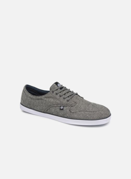 Trainers Element TOPAZ stone Cahambray 2 Grey detailed view/ Pair view