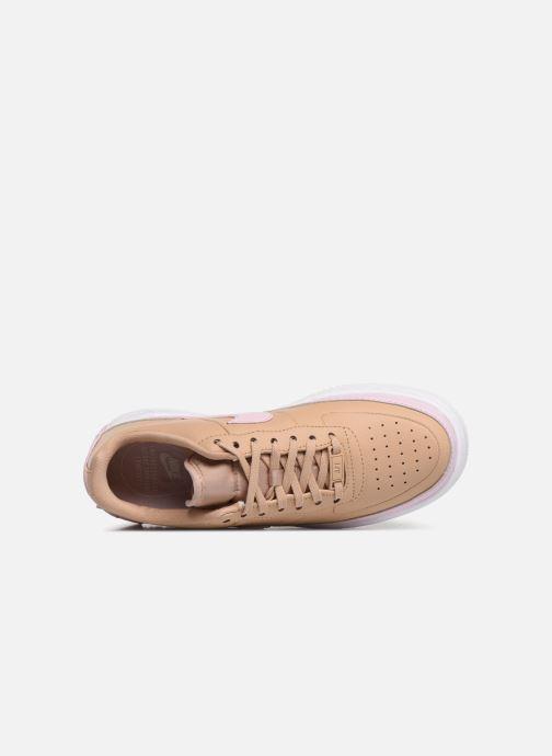 Sneaker Nike W Af1 Jester Xx beige ansicht von links