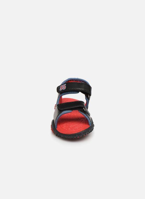 Sandales et nu-pieds Cars Greg Noir vue portées chaussures