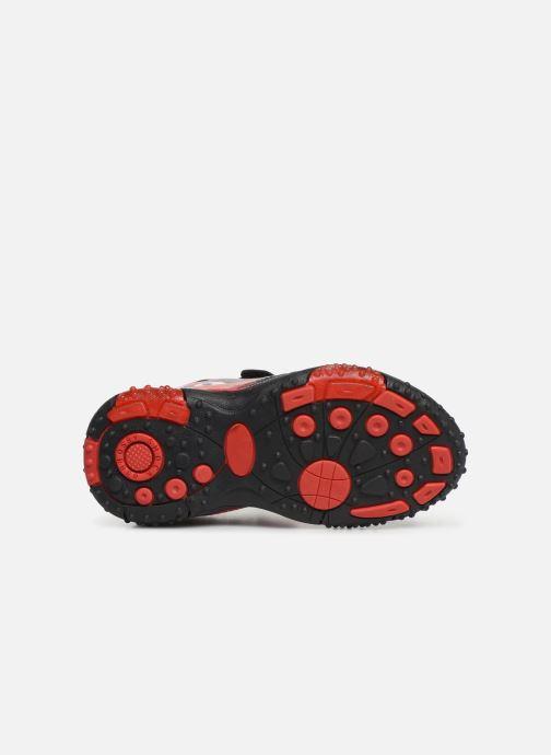 Sandales et nu-pieds Cars Greg Noir vue haut
