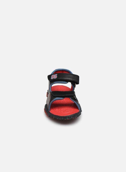 Sandales et nu-pieds Cars Greg Rouge vue portées chaussures