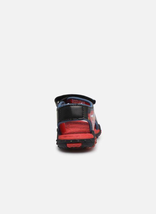 Sandales et nu-pieds Cars Greg Rouge vue droite