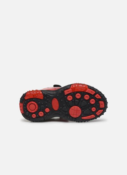 Sandales et nu-pieds Cars Greg Rouge vue haut