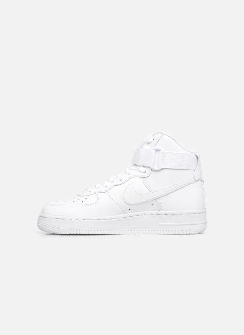 Baskets Nike Wmns Air Force 1 High Blanc vue face