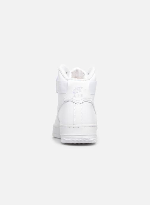 Deportivas Nike Wmns Air Force 1 High Blanco vista lateral derecha