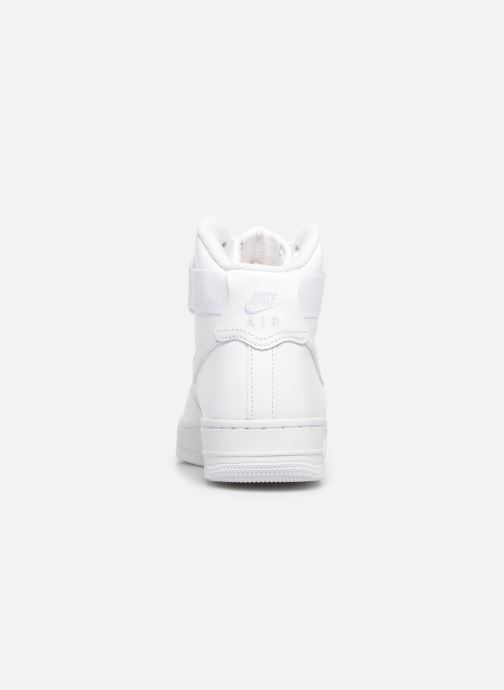 Sneakers Nike Wmns Air Force 1 High Wit rechts