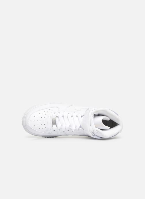 Deportivas Nike Wmns Air Force 1 High Blanco vista lateral izquierda