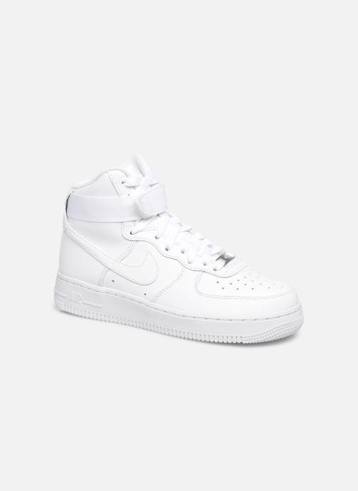Baskets Nike Wmns Air Force 1 High Blanc vue détail/paire