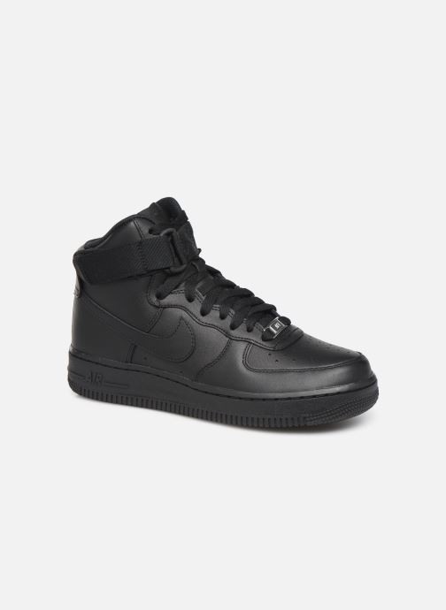 Baskets Nike Wmns Air Force 1 High Noir vue détail/paire