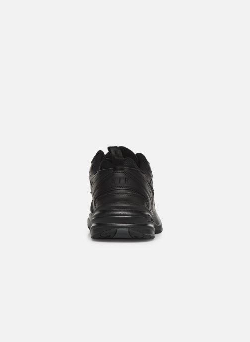 Chaussures de sport Nike Air Monarch Iv Noir vue droite