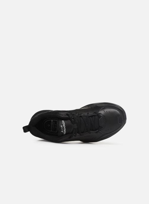 Chaussures de sport Nike Air Monarch Iv Noir vue gauche