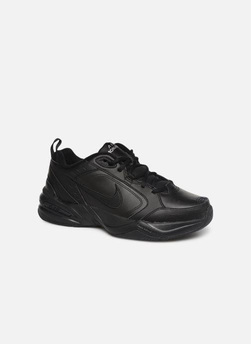 Sportssko Nike Air Monarch Iv Sort detaljeret billede af skoene