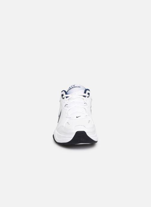 Chaussures de sport Nike Air Monarch Iv Blanc vue portées chaussures