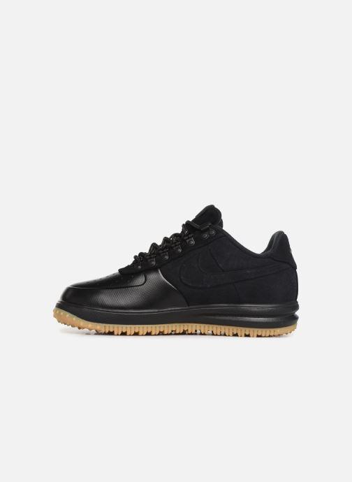 Sneakers Nike Lunar force 1 Duckboot Low Zwart voorkant