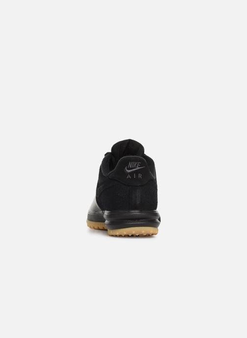 Sneakers Nike Lunar force 1 Duckboot Low Zwart rechts