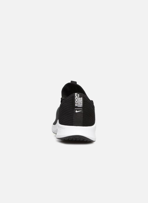 Chaussures de sport Nike Wmns Nike Air Zoom Elevate Noir vue droite