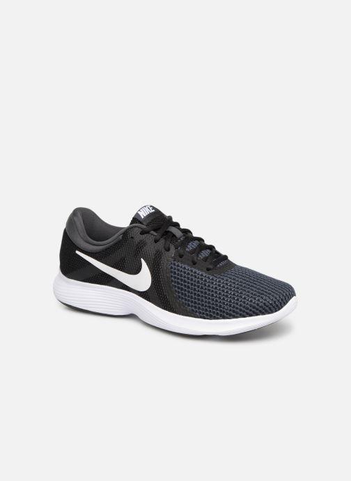 Sportssko Nike Nike Revolution 4 Eu Sort detaljeret billede af skoene