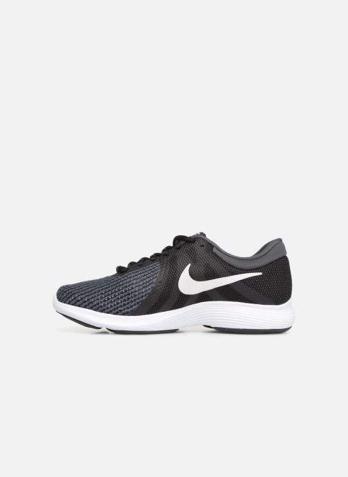 Sport shoes Nike Wmns Nike Revolution 4 Eu Black front view
