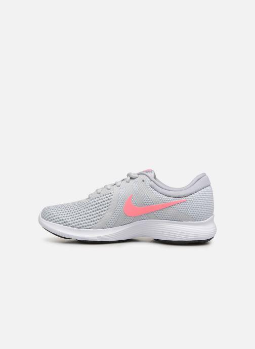 Sport shoes Nike Wmns Nike Revolution 4 Eu Grey front view