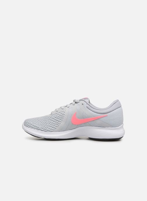 Sport shoes Nike Wmns Nike Revolution 4 Eu Grey front view