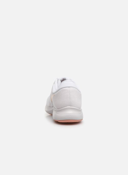 Sport shoes Nike Wmns Nike Revolution 4 Eu White view from the right