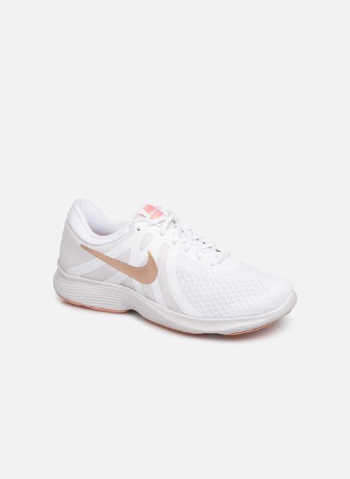 Sport shoes Nike Wmns Nike Revolution 4 Eu White detailed view/ Pair view