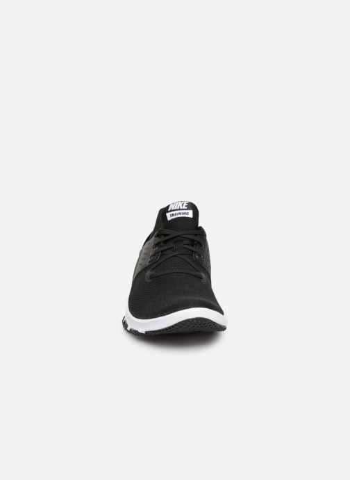 Chaussures de sport Nike Nike Flex Control Tr3 Noir vue portées chaussures