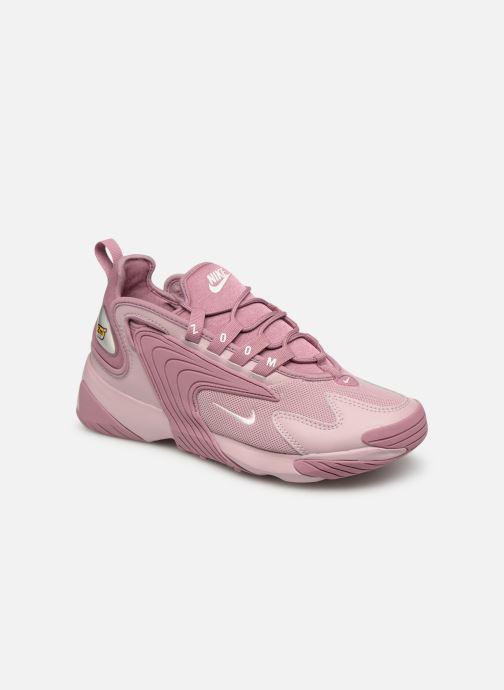 official photos 312f4 5d305 Baskets Nike Wmns Nike Zoom 2K Rose vue détail paire