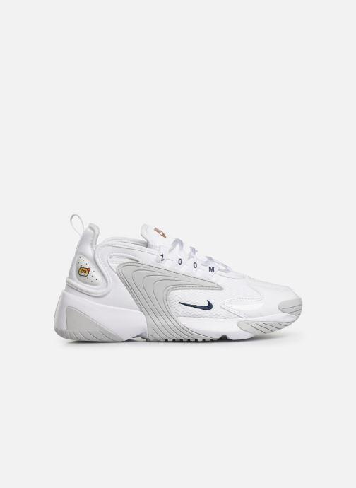 Sneakers Nike Wmns Nike Zoom 2K Wit achterkant