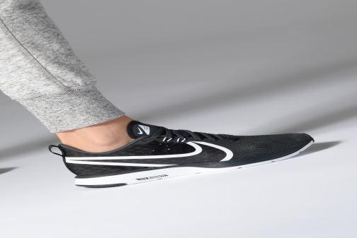 Zapatillas de deporte Nike Wmns Nike Zoom Strike 2 Negro vista de abajo