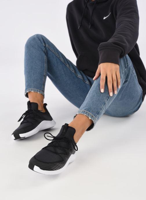 Chaussures de sport Nike Wmns Nike Free Tr Ultra Noir vue bas / vue portée sac