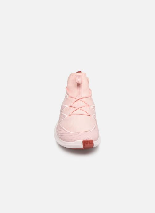 Chaussure Femme Grande Remise Nike Wmns Nike Free Tr Ultra Rose Chaussures de sport 389266