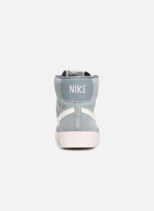Deportivas Nike W Blazer Mid Vintage Suede Gris vista lateral derecha