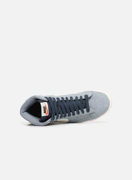 Baskets Nike W Blazer Mid Vintage Suede Gris vue gauche