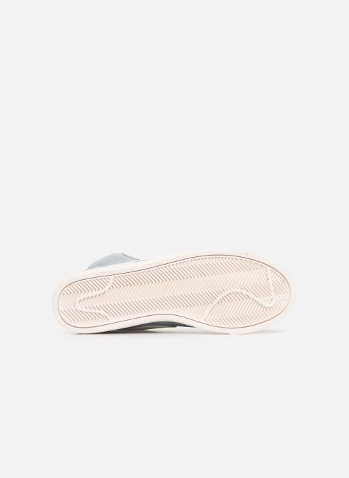 Baskets Nike W Blazer Mid Vintage Suede Gris vue haut