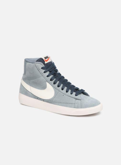 Baskets Nike W Blazer Mid Vintage Suede Gris vue détail/paire