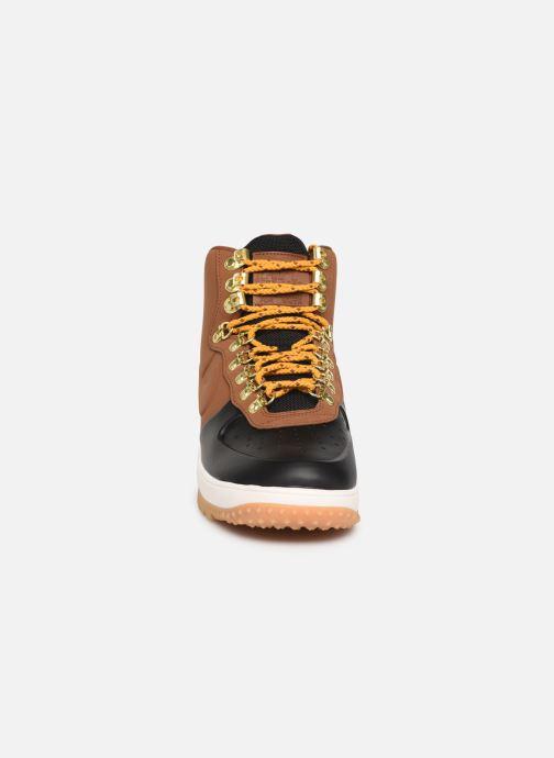 Sneaker Nike Lunar Force 1 Duckboot '18 braun schuhe getragen