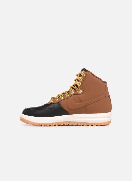 Trainers Nike Lunar Force 1 Duckboot '18 Brown front view