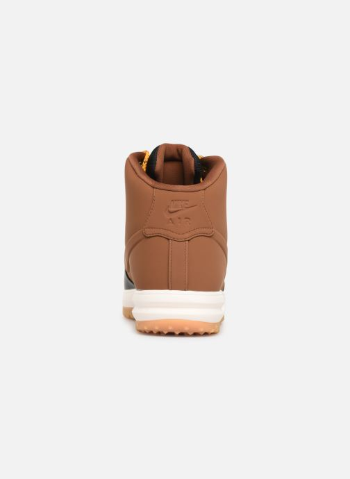 Trainers Nike Lunar Force 1 Duckboot '18 Brown view from the right