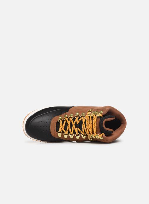Sneaker Nike Lunar Force 1 Duckboot '18 braun ansicht von links