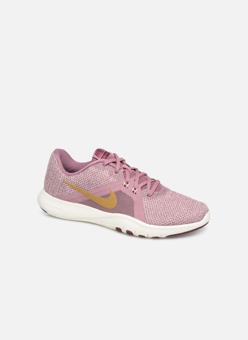 Sportssko Nike W Nike Flex Trainer 8 Amp Pink detaljeret billede af skoene
