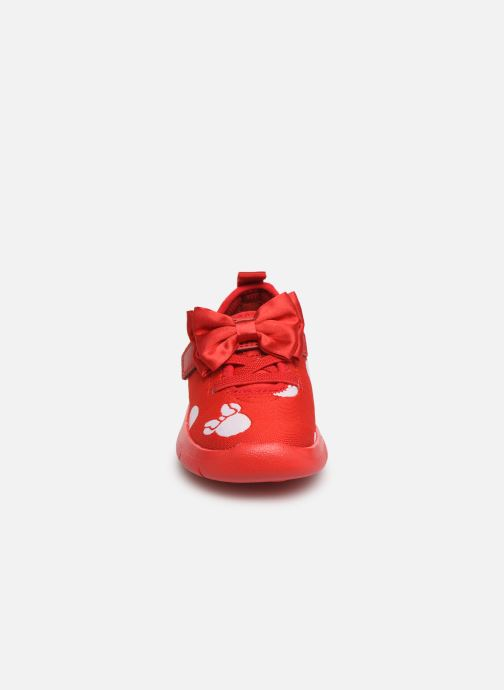 Trainers Clarks Ath Bow x Minnie Red model view