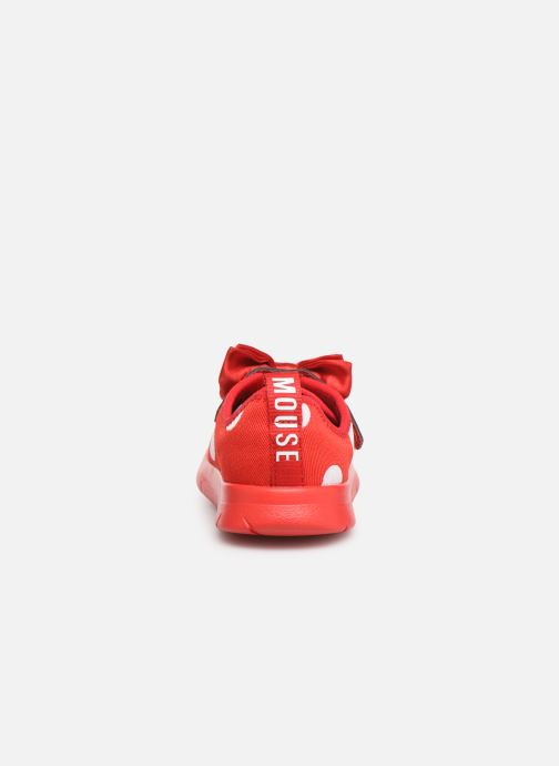 Trainers Clarks Ath Bow x Minnie Red view from the right
