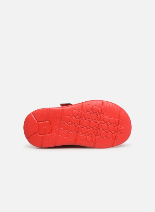 Trainers Clarks Ath Bow x Minnie Red view from above
